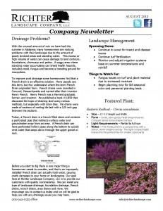08-13 August Newsletter