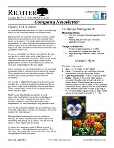 09/13 September Newsletter